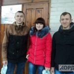зліва направо віталій та іванка кузьмичі _ богдан латковський